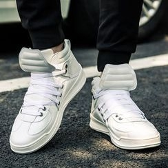 MARTUCCI - High-Top Lace-Up Sneakers