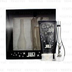 J. Lo - Glow After Dark Coffret: Eau De Toilette Spray 50ml/1.7oz + Night Bright Body Lotion 200ml/6.7oz