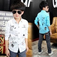 Pegasus - Kids Printed Long-Sleeve Shirt