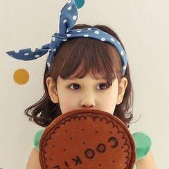 Koibito - 童装圆点蝴蝶结发箍