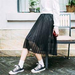 Rainie - 打褶襉裙