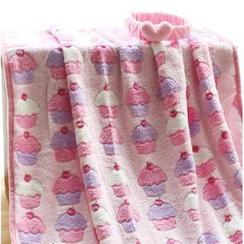 默默愛 - 圖案毛毯