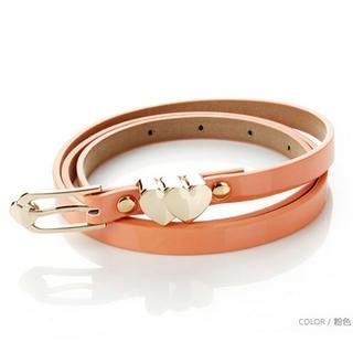 HSTYLE - Heart-Detail Slim Belt