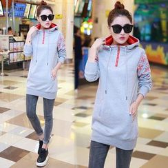 Ekim - Patterned Long Hoodie