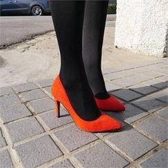 LIPHOP - Faux-Suede Heels