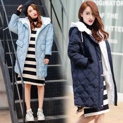 Ekim - Quilted Hooded Coat