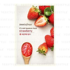 Innisfree - It's Real Squeeze Mask (Strawberry)