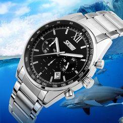 SKMEI - 鋼帶手錶