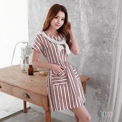 OrangeBear - Striped Shift Dress