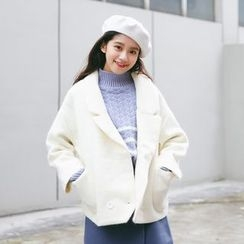 Porta - Mohair Knit Coat