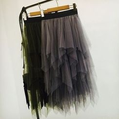 Apalili - 接层网纱裙子