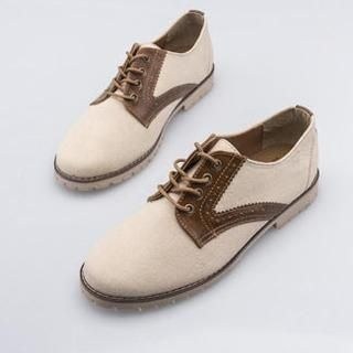 BESTshop - Panel Tied Oxfords