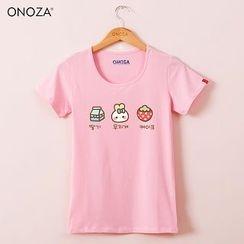 Onoza - 短袖印花 T 恤