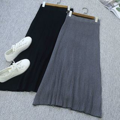 Oh My Love - Knit Midi Skirt