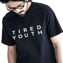 YIDESIMPLE - Letter T-Shirt