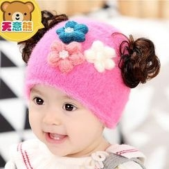 Azuki - Kids Flower Beanie