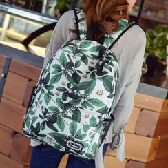 Tasche - Leaf Print Backpack
