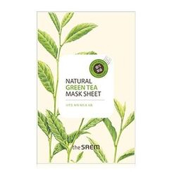 The Saem - Natural Green Tea Mask Sheet 1pc