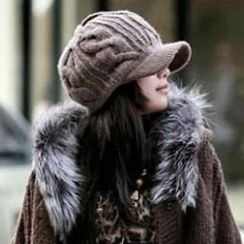 Hats 'n' Tales - Knit Newsboy Cap