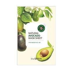 The Saem - Natural Avocado Mask Sheet 1pc