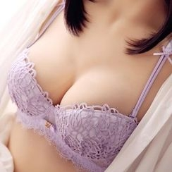 HYG Lingerie - Set: Lace Bra + Panties