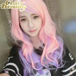 Clair Beauty - Long Full Wig - Mixed Color Wavy