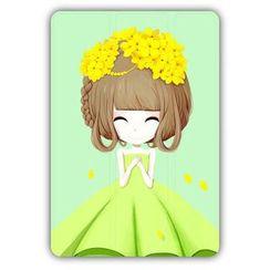 Kindtoy - 女孩印花 iPad  mini  4 保护套