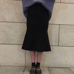 Dasim - Midi Mermaid Skirt