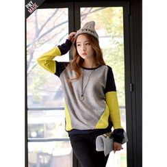 DEEPNY - Color-Block Sweater
