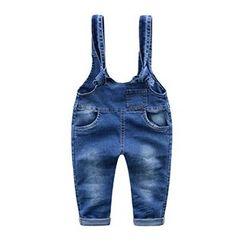 Kido - 小童背带牛仔裤