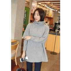 REDOPIN - Cowl-Neck Knit Sweater