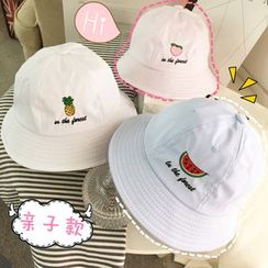 FROME - Fruit Embroidered Bucket Hat