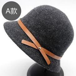 M.O.H - Wool Blend Bowler Hat