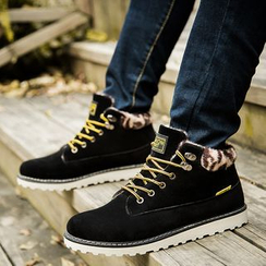 Main Road - Lace Up Boots