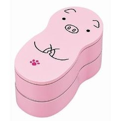 Hakoya - Hakoya Animal Lunch Box Pink