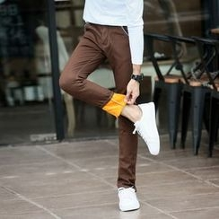 AOBIN - Fleece-Lined Skinny Pants
