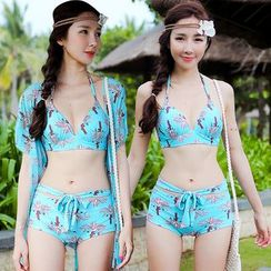 Beach Date - Printed Bikini Set