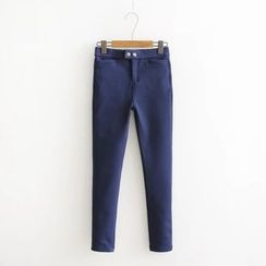 ninna nanna - Plain Fleece-lined Pants