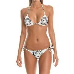 Omifa - Tiger-Print Bikini