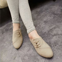 Bayrose - Lace Up Flats