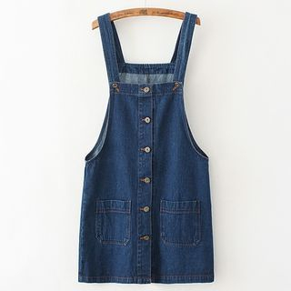 Citree - Denim Pinafore Dress