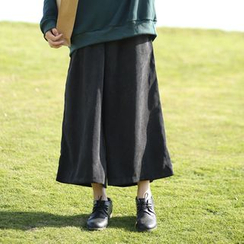 Clover Dream - Plain Corduroy Culottes
