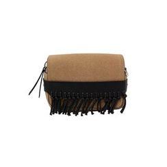 DABAGIRL - Fringed Flap Shoulder Bag