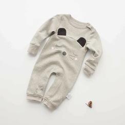 MOM Kiss - 婴儿印花连体裤