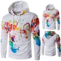 Blueforce - Paint Splattered Hoodie