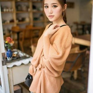 Tokyo Fashion - Tie-Waist Long Sweater