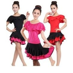 AUM - Latin Dance Set: Top + Skirt