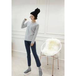 Lemite - Brushed-Fleece Washed Jeans