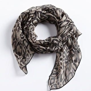 Moonbasa - Leopard-Print Scarf