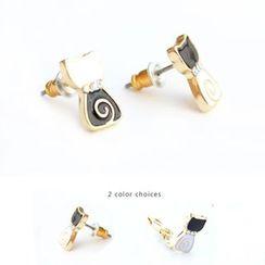 Ginga - Cat Earrings / Clip-On Earrings